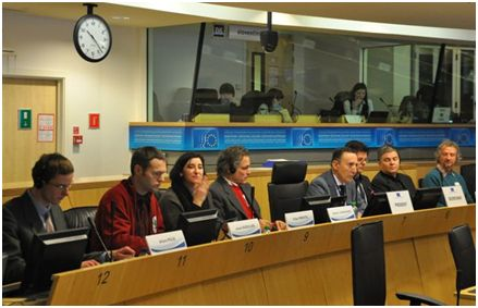 The Transition panel with the President of the TEN section EESC