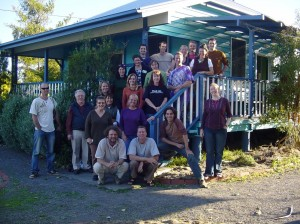 The group of Sunshine Coast locals who created Australia's first Energy Descent Action Plan.