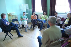 The workshop on local currencies.