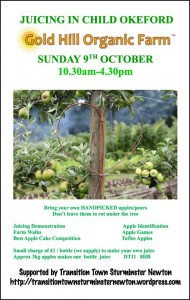 okeford event poster