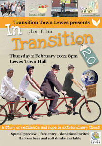 In transition poster by Lewes