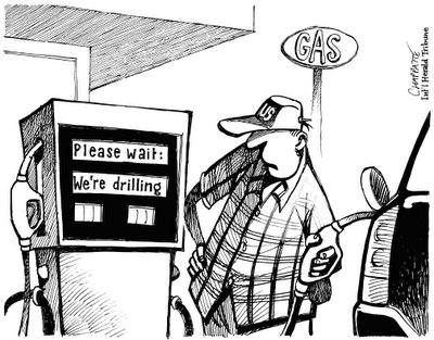 Peak Oil Cartoon 26 feb 2006