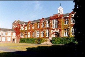Our home for the conference, the former Seale-Hayne Agricultural College near Newton Abbott.  A stunning venue, and we have it all to ourselves!