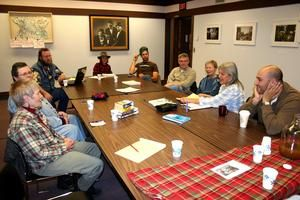 a transition group meeting