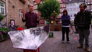 TT Witzenhausen -Solar cooking -photo credit - Evidero