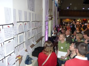 Open Space at last year's conference in Battersea