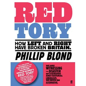 Interview with Phillip Blond of ResPublica, author of 'Red Tory'